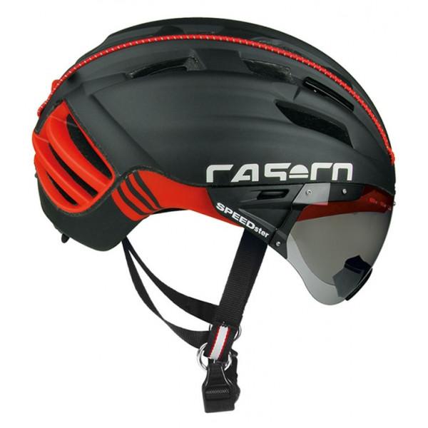 CASCO 德國 SPEED STER  - TC (含風鏡) 空氣力學/競賽公路安全帽 共2色