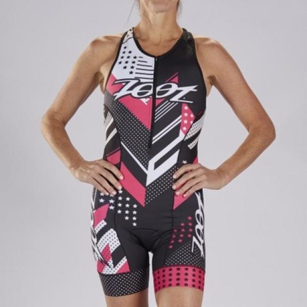 ZOOT 美國 女款 S19 TEAM 選手系列 - 無袖連身三鐵服