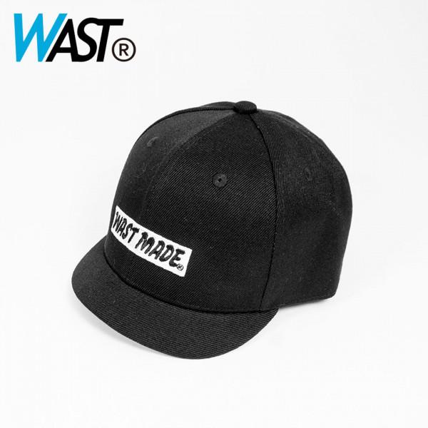 【WAST】W-TWILL 極短帽簷帽-黑