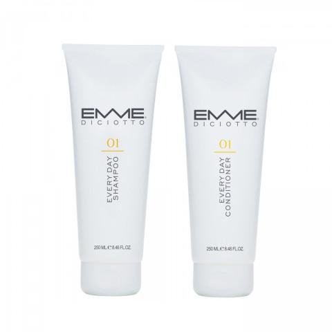 [2月組合]EMME01號洗髮精+01號護髮素