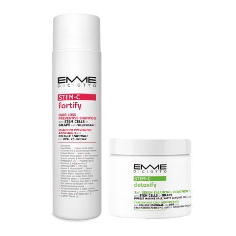 [2月組合]EMME淨鹽洗髮精+能量洗髮精