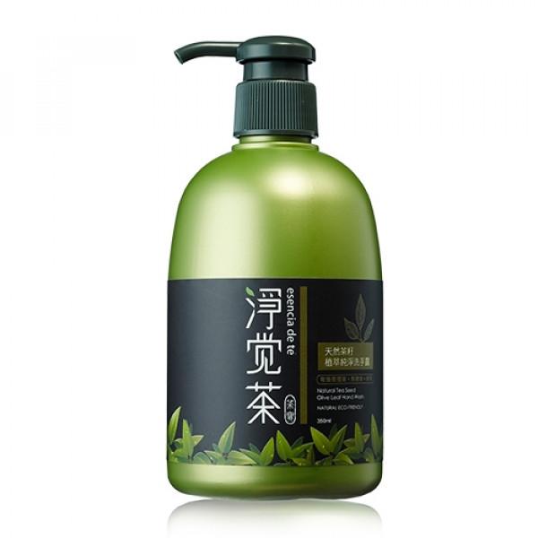 天然茶籽植萃純淨洗手露 350ml