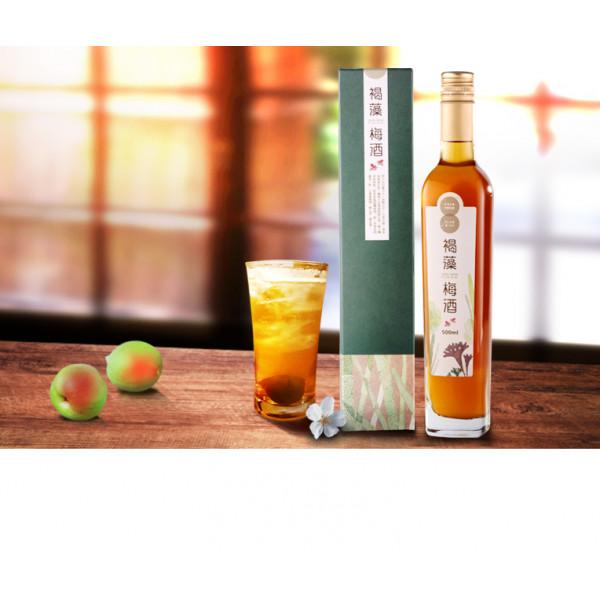 【Hi-Q fresh】褐藻梅酒(500ml/瓶)