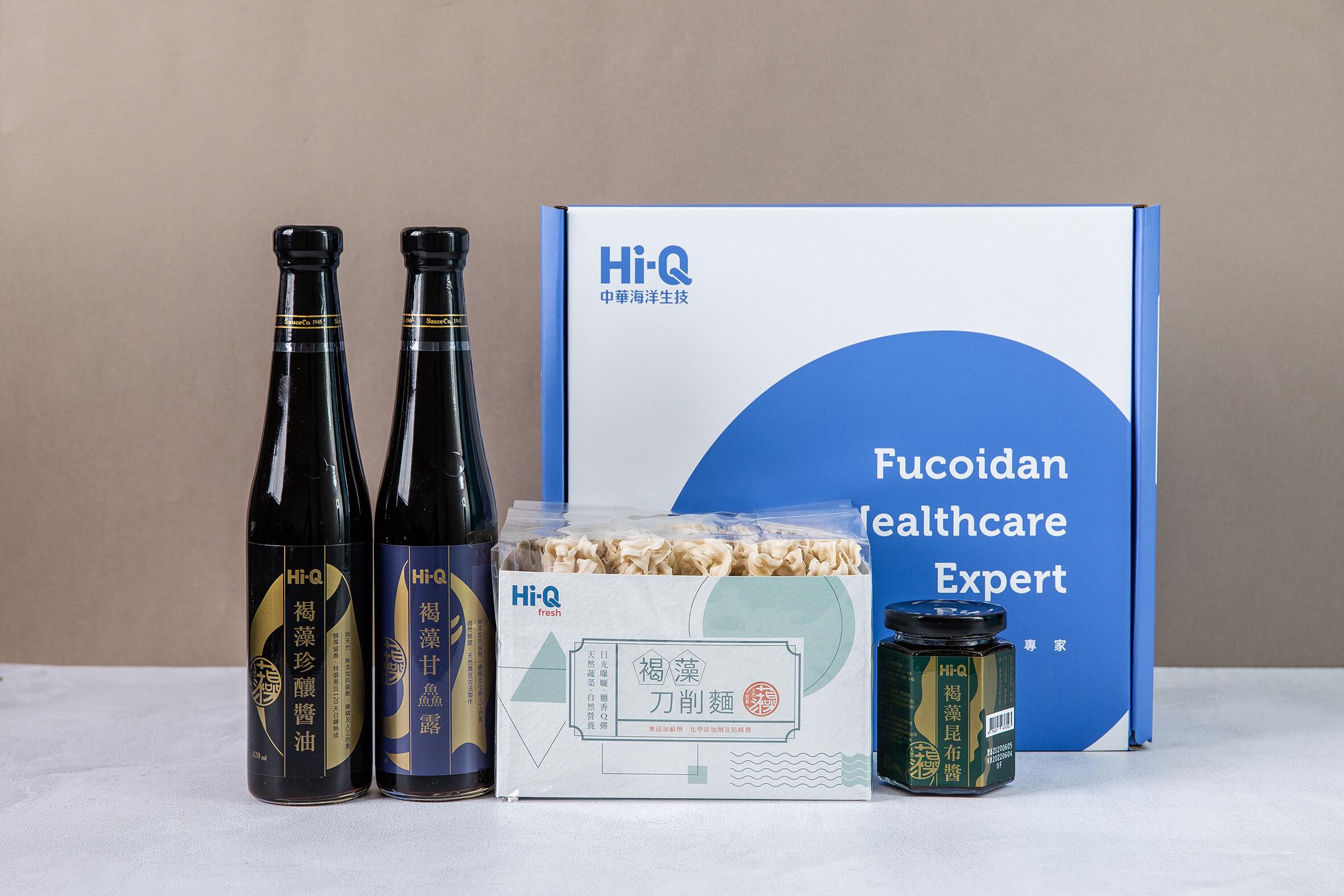【Hi-Q fresh】經典好拌禮盒(刀削麵+醬油+甘鮮露+昆布醬)
