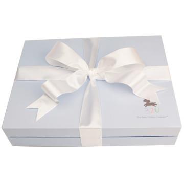 32U寶貝藍緞帶禮盒(購滿三件商品即可加價購)