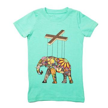 ✔️ 大象馬戲團舒棉T⛔️