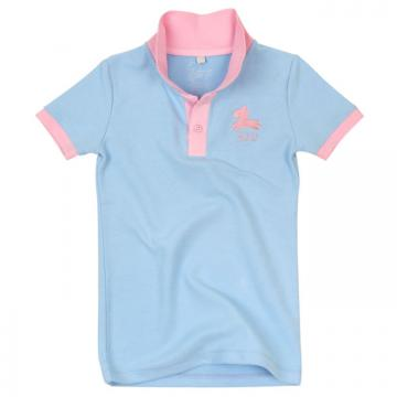 32U經典POLO衫(藍)