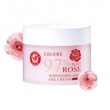 97玫瑰植萃淨白水凝霜200g
