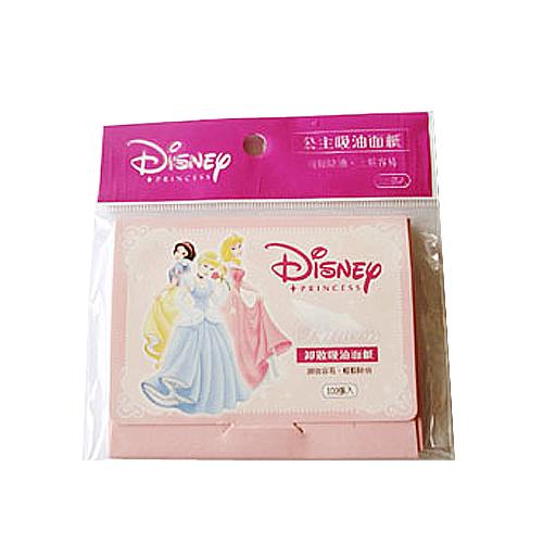 DISNEY 迪士尼公主吸油面紙 100張