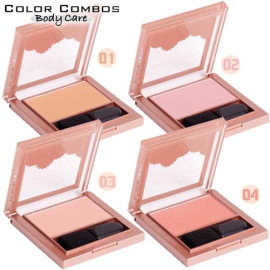 [原廠公司●狂野豹紋風]COLOR COMBOS 礦物腮紅7g(四色選一)