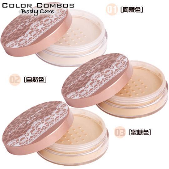 [原廠公司●狂野豹紋風]COLOR COMBOS 礦物定妝蜜粉10g(三色選一)