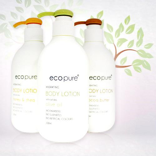 ECOPURE 身體滋潤乳液300ml(三款任選)