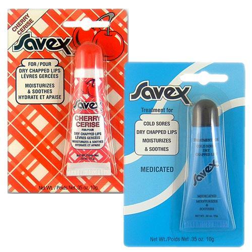 SAVEX 莎薇軟管護唇膏10g(兩款任選)