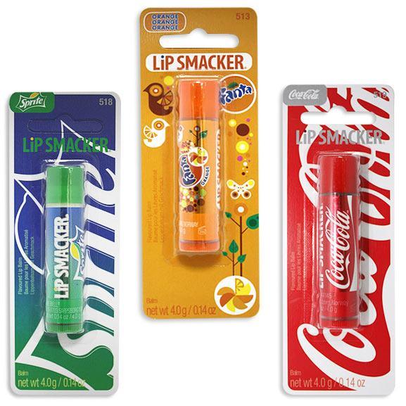 Coca Cola 經典護唇膏4g(三款任選)