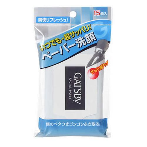 GATSBY淨酷濕紙巾 15枚