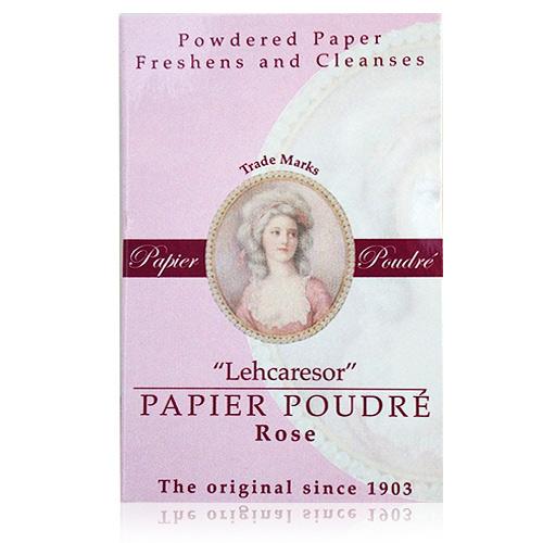 [補妝小物] 英國女王頭 吸油補妝粉紙-玫瑰粉色