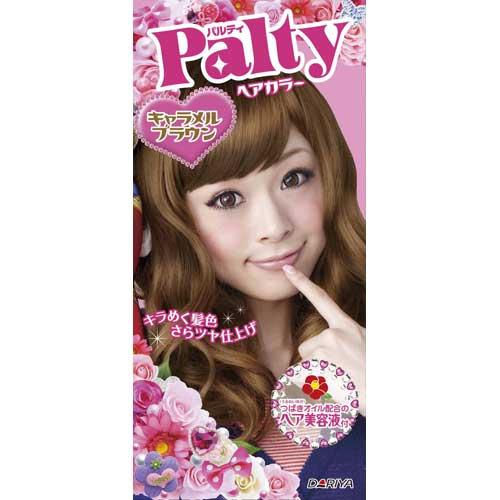 日本 PALTY 芭露蒂2012魔髮復色染劑(焦糖褐)