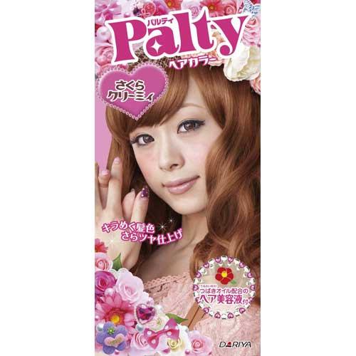 日本 PALTY 芭露蒂2012魔髮復色染劑(奶霜櫻花)