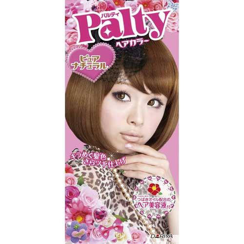 日本 PALTY 芭露蒂2012魔髮復色染劑(純淨棕)