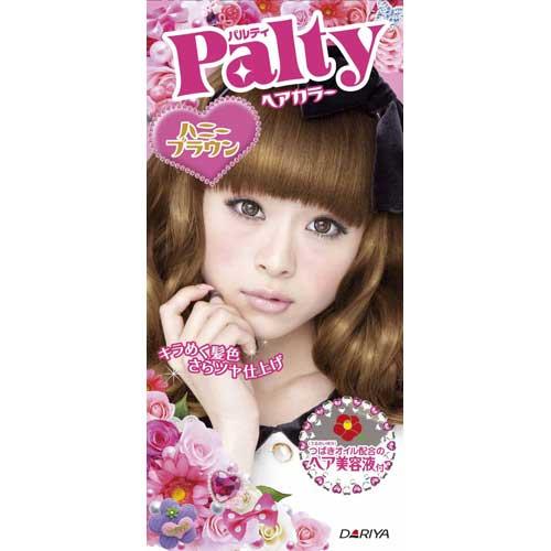 日本 PALTY 芭露蒂2012魔髮復色染劑(蜜糖褐)