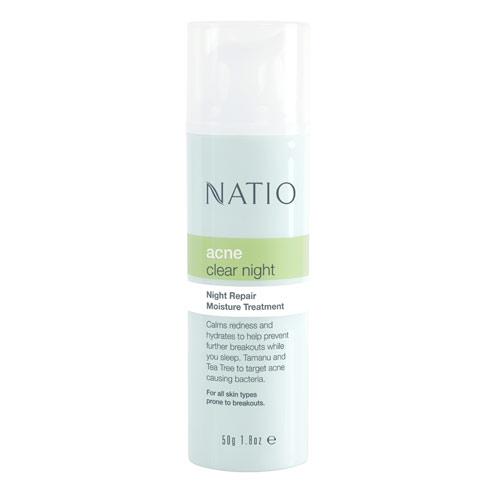 NATIO 淨油肌水潤修護乳-夜間50g