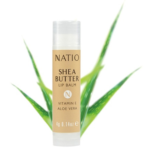 NATIO 乳木果油潤唇膏4g
