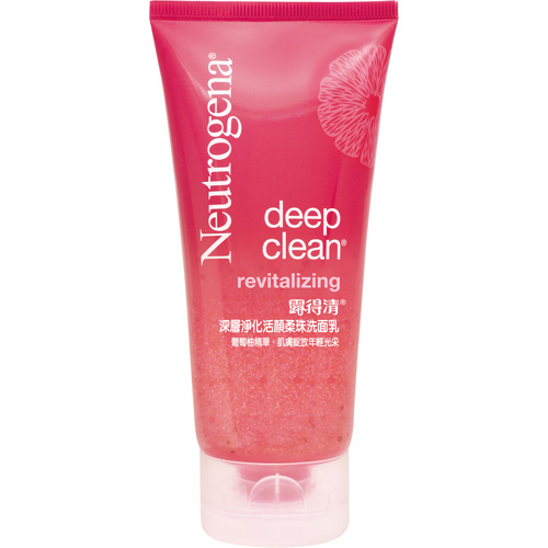Neutrogena露得清淨化活顏柔珠洗面乳 100g