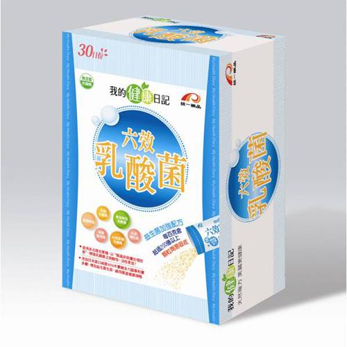《我的健康日記》六效乳酸菌 (30日份/盒)