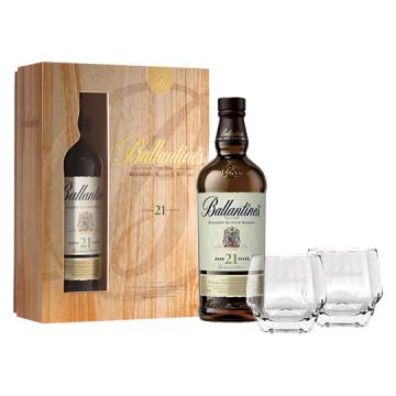 百齡罈21年調和威士忌禮盒【2019春節優惠】