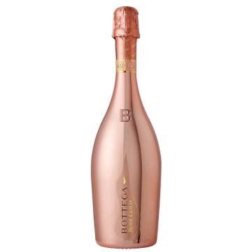 義大利波特嘉粉紅金瓶氣泡酒