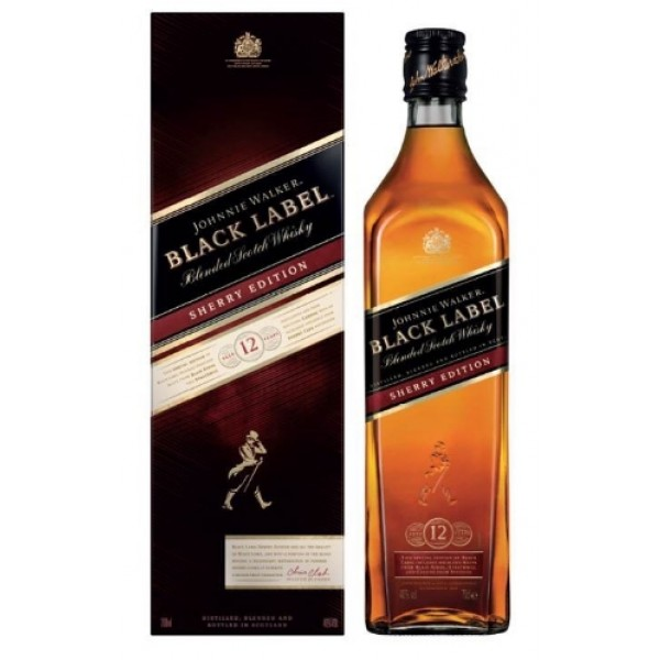 約翰走路12年黑牌雪莉桶調和威士忌