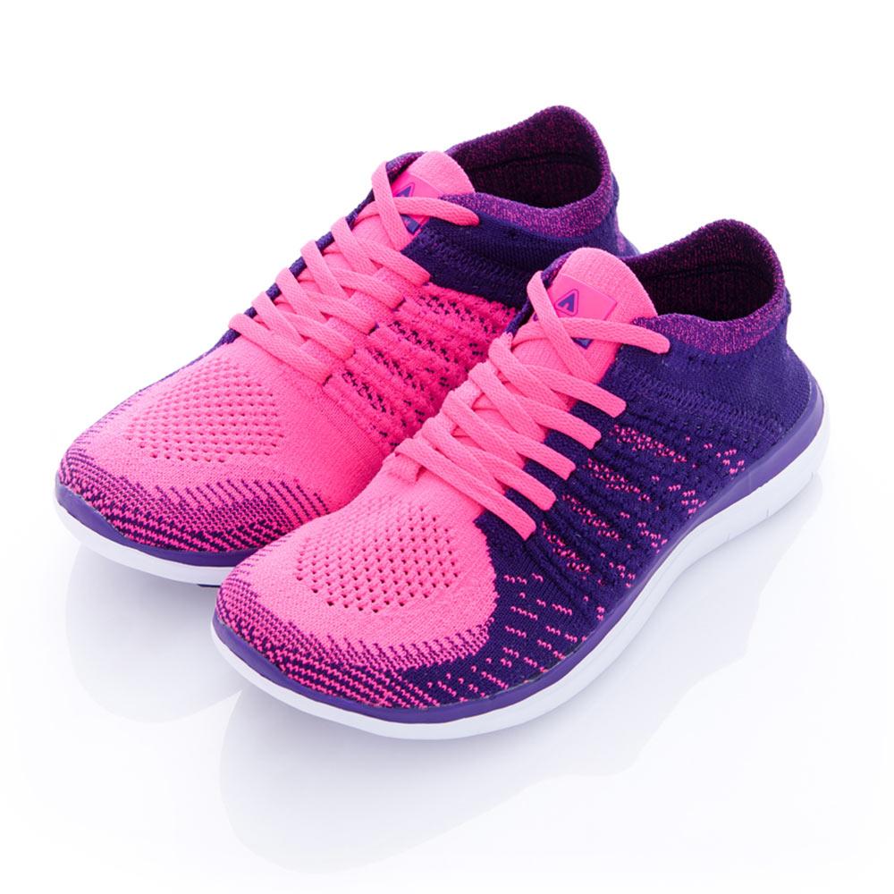 凱普頓 彩紋編織透氣運動慢跑鞋