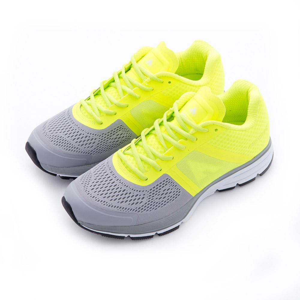雙色網布透氣記憶鞋墊慢跑鞋