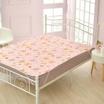 義大利Fancy Belle X DreamfulCat《一起做麵包》防蹣抗菌透氣防水平面式保潔墊-特大