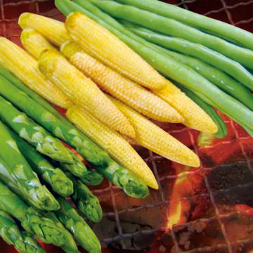 綜合時蔬A(四季豆+蘆筍+玉米筍)