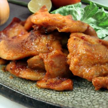 韓式辣醬雞(大辣)