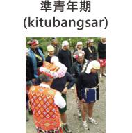 卑南族準青年期(kitubangsar)