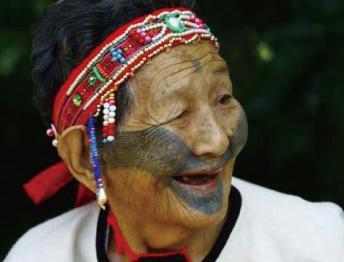 「生命力」的印記—泰雅族