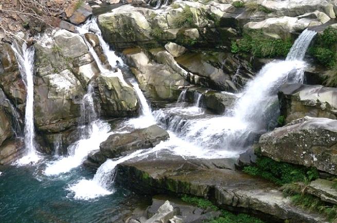 原味呈現-Mrqwang泰雅族的桃花源—馬里光瀑布