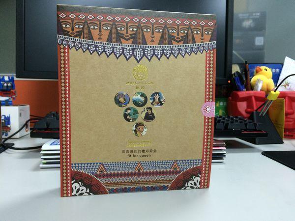 台灣原住民面膜伴手禮│少數民族,紙雕設計 黑面琵鷺禮盒