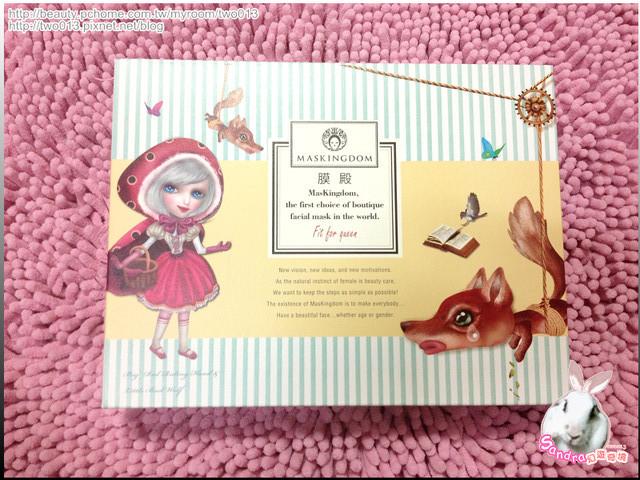 大紅帽與小野狼聯名禮盒-薩比娜手繪設計面膜亮眼組
