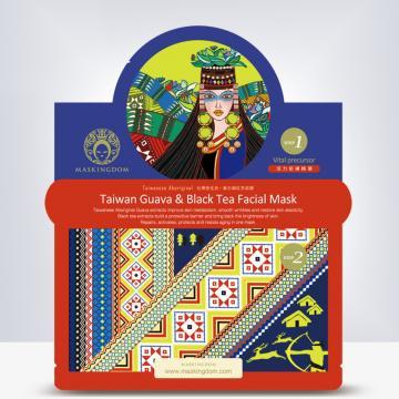 抗皺活化蠶絲面膜-番石榴紅茶面膜-台灣原住民邵族