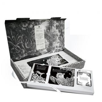 【限量禮盒套裝】珍珠珊瑚魅惑蕾絲面膜套裝組-18片豪裝