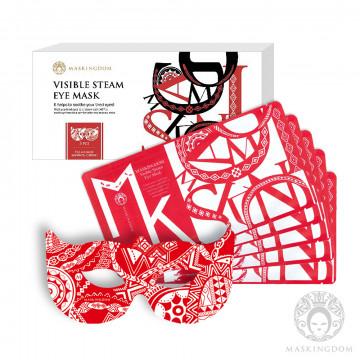 <主播夫妻推薦>可視型蒸氣眼罩 5片/盒-紅色