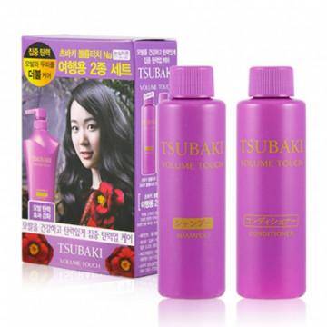 TSUBAKI思波綺 紫椿保濕控油洗護髮旅行組 (洗髮精40ml+潤髮乳40ml)