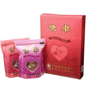 【快車肉乾】小禮盒 (杏仁香脆肉紙+蜜汁豬肉乾)