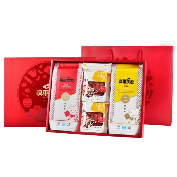 【快車肉乾】經典大禮盒 (暢銷款4大包入)