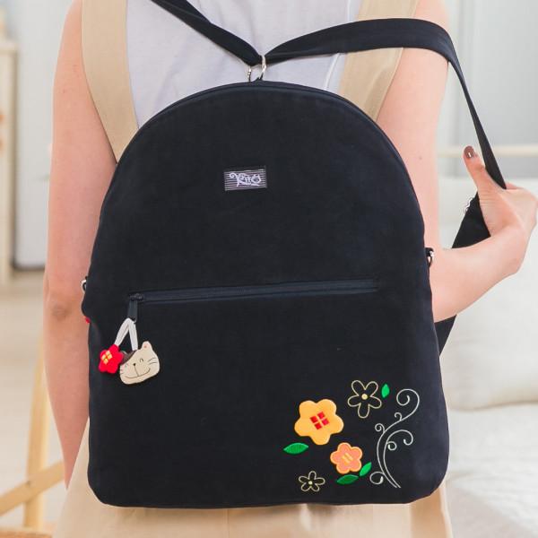 Kiro貓 大容量 斜背/旅行後背包/兩用包【211272】