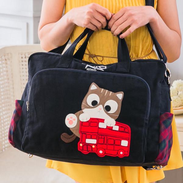 【211281】賓士貓三用包後背/斜背/手提包/旅行包/大容量