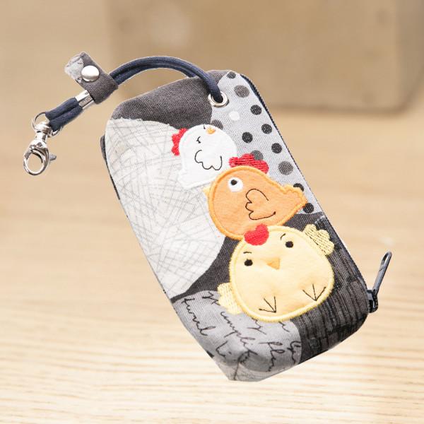 【222716】小雞家族鑰匙包/零錢包/硬幣包/卡片包/小物收納包